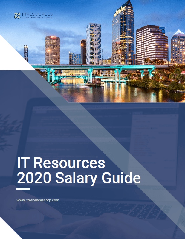 IT Resources salary guide containing top tech jobs in 2020