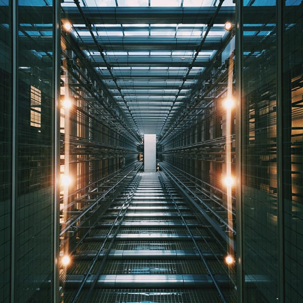 hallway of databases with operational continuity